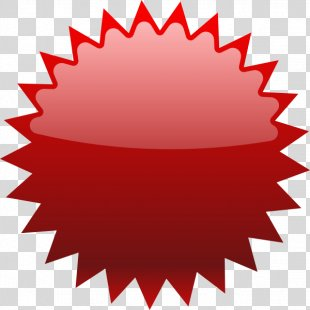 Starburst Red Clip Art - Pricing Cliparts PNG