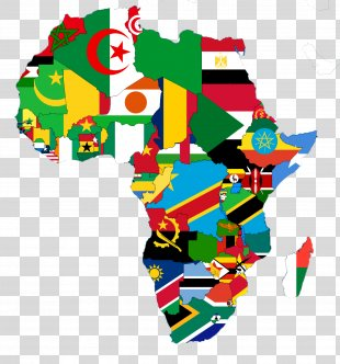 Africa World Map Flags Of The World - Africa PNG