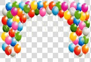 Balloon Arch Clip Art - Balon PNG