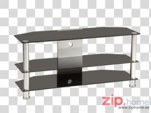 TV Tray Table Television Furniture Black - Tv Cabinet PNG