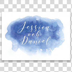 Wedding Invitation Paper Watercolor Painting Convite - Savethedate PNG