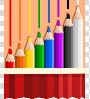 Colored Pencil Drawing Clip Art - Color Pencil PNG