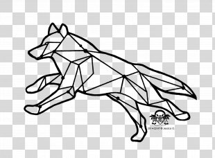 Gray Wolf Tattoo Drawing Coyote Clip Art - Running Wolf Tattoo PNG