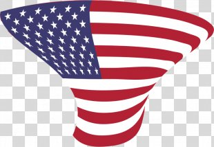 Flag Of The United States Map Clip Art - American Flag PNG