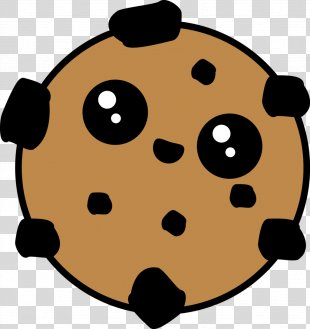 Cookie Monster Bocadillo Biscuits Chocolate Chip Cookie Kavaii - Cookie PNG