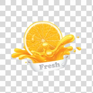 Orange Juice Orange Juice Fruit Orange Slice - Orange PNG