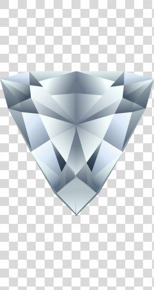 Euclidean Vector Wallpaper - Silver Diamond-dimensional Vector PNG