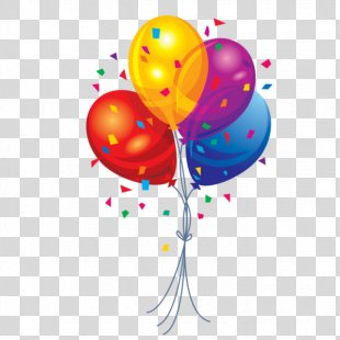 Birthday Cake Balloon Download Clip Art - Birthday PNG