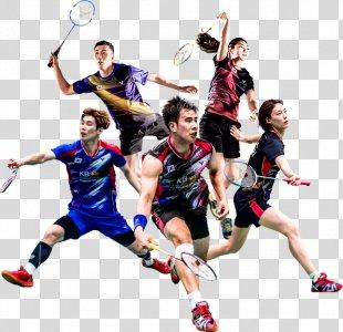 Badminton Team Sport Racket - Badminton PNG