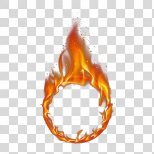 Fire Flame - Red Ring Of Fire PNG