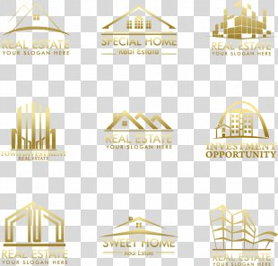 Logo Graphic Design House Real Property - Real Estate LOGO PNG