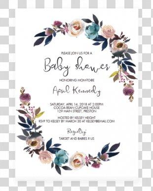 Wedding Invitation Baby Shower Boho-chic Bohemianism Diaper - Baby Shower Invitation PNG