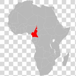 Africa Blank Map - Africa PNG