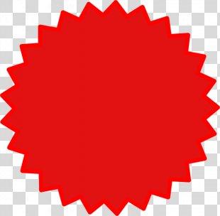 Starburst Clip Art - Red Star PNG