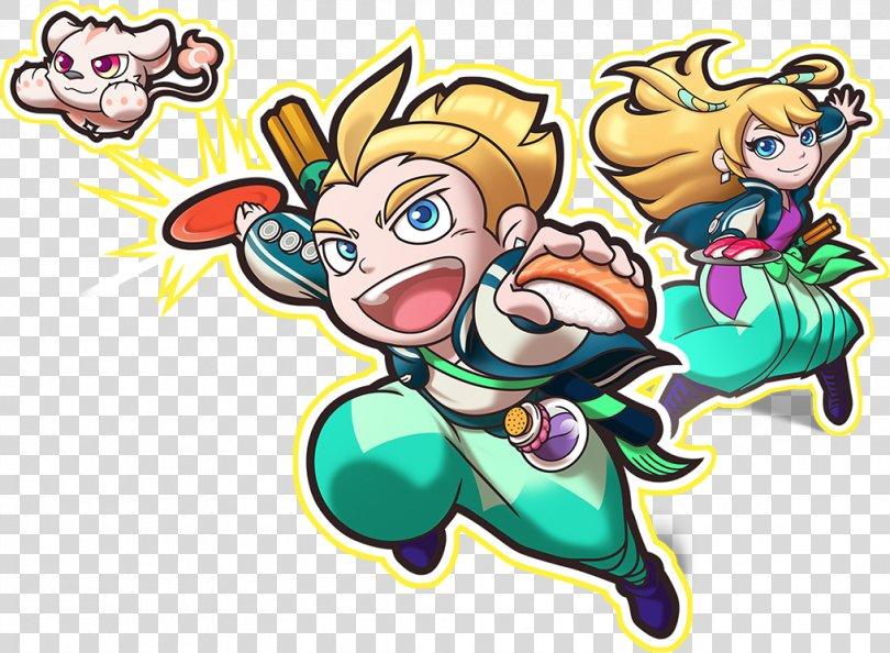 Sushi Striker: The Way Of Sushido Nintendo Switch Electronic Entertainment Expo 2017 Mario Tennis Aces, Sushi PNG, Free Download
