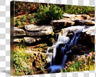 Waterfall Water Resources Stream Landscaping State Park - Waterfall Scenery PNG