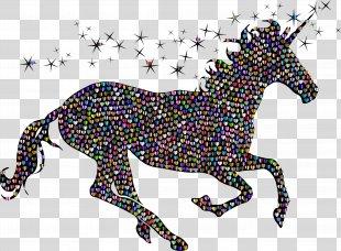 Unicorn Twilight Sparkle Silhouette T-shirt Drawing - Unicorn PNG
