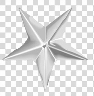 United States Navy Star Military Rank Clip Art - Silver Star PNG