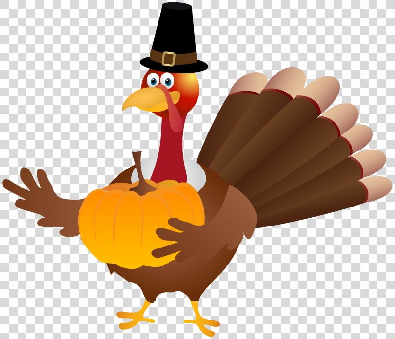 Turkey Thanksgiving Clip Art, Thanksgiving Turkey Transparent Image PNG