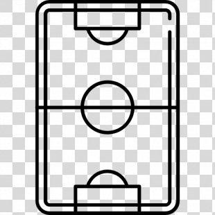 Football Pitch Stadium Football Player - Football Field PNG