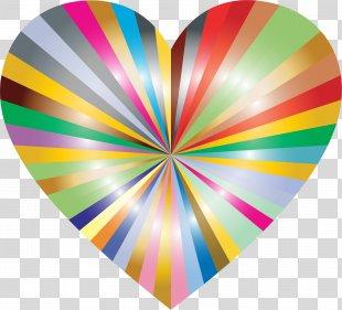 Heart Clip Art - Starburst PNG
