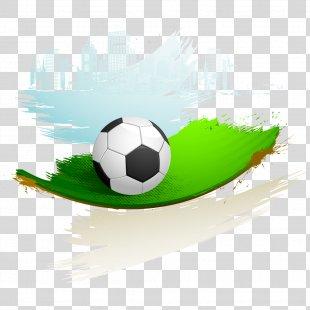 Football Player Stadium - Football Field PNG