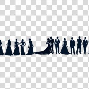 Bridesmaid Wedding Invitation Clip Art - Bride PNG