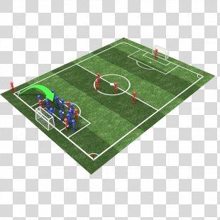 Football Pitch 3D Computer Graphics Sport - Football Field PNG