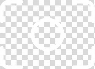 White Symmetry Black Pattern - Frame Of Camera View Frame PNG