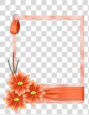 Borders And Frames Picture Frames Flower Paper Clip Art - Flower PNG