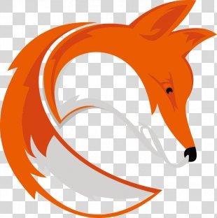 Logo Euclidean Vector - Vector Fox Logo PNG
