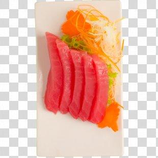 Sashimi Smoked Salmon Japanese Cuisine Sushi Crudo - Sushi PNG
