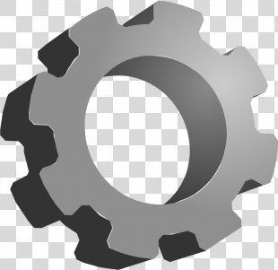 Gear 3D Computer Graphics Clip Art - Gear PNG