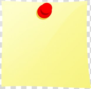 Post-it Note Paper Drawing Pin Clip Art - Sticky Note PNG