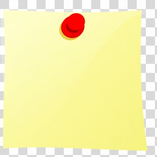 Post-it Note Paper Drawing Pin Clip Art - Post-it Note PNG