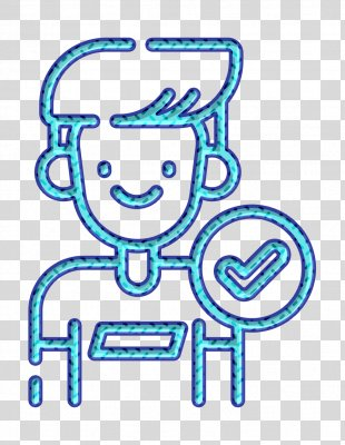 Contact Icon Friend Icon Social Media Icon - Thumb Smile PNG