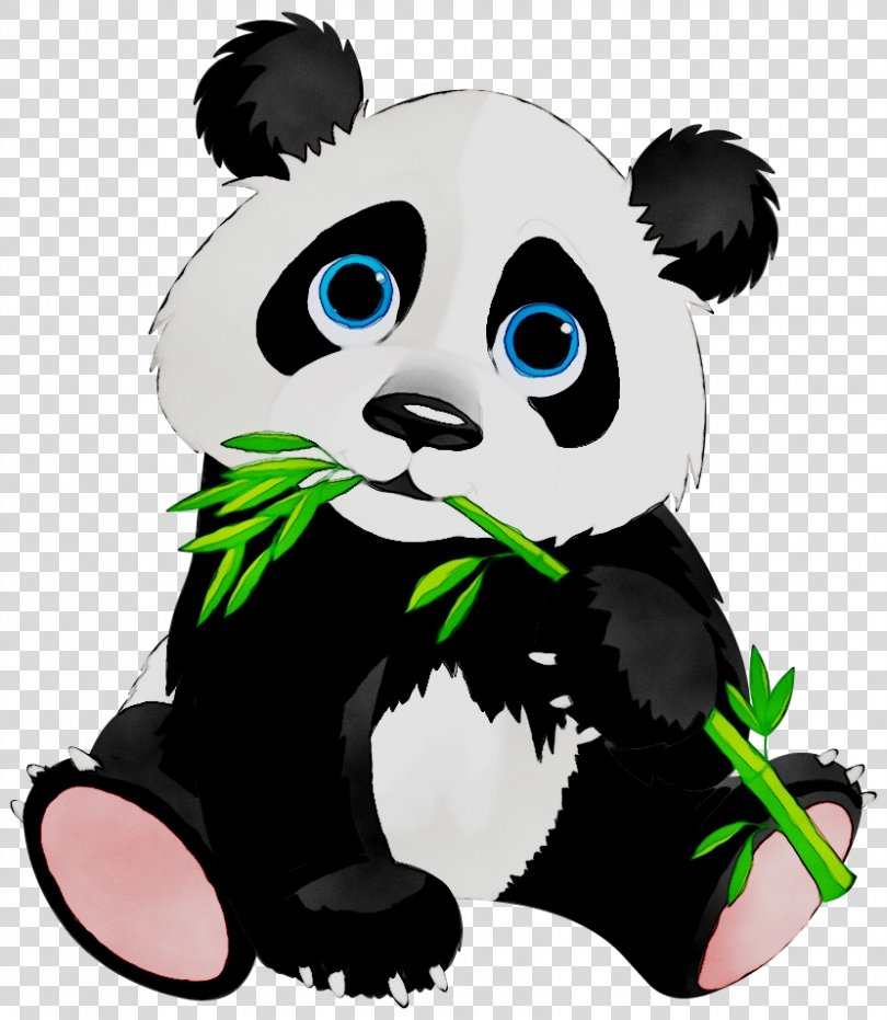 Giant Panda Clip Art Cuteness Cartoon PNG