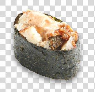 Sushi Pizza Makizushi Japanese Cuisine Sushi Pizza - Sushi PNG