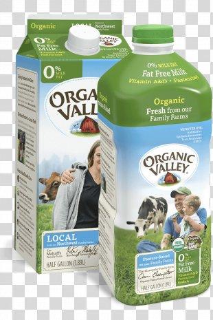 Milk Organic Food Organic Valley Farm - Milk PNG