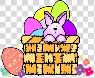 Easter Bunny Easter Egg Egg Hunt Clip Art - Happy Easter PNG