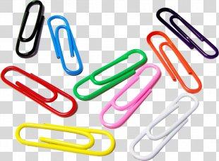 Paper Clip Manufacturing Plastic Clamp - Paper Clip PNG