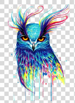 Owl Drawing Artist Painting - Owl PNG