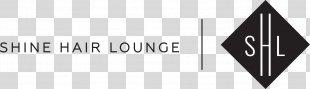Shine Hair Lounge Logo Beauty Parlour Brand - Shiny Hair PNG