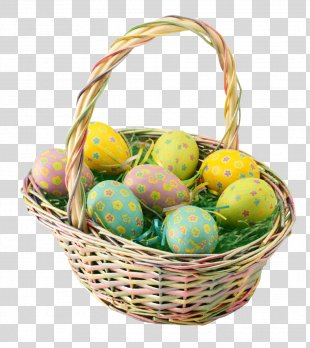 Easter Basket - Easter Egg, Egg Hunt PNG