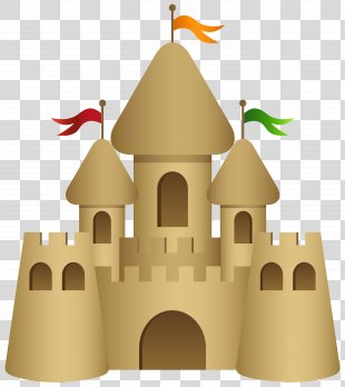 Sand Art And Play Drawing Clip Art - Sand Castle Transparent Clip Art Image PNG