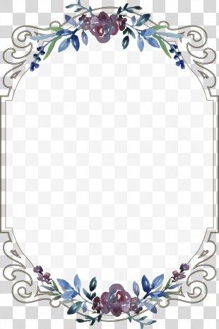 Wedding Invitation Clip Art Borders And Frames Image - Wedding Borders Invitation PNG