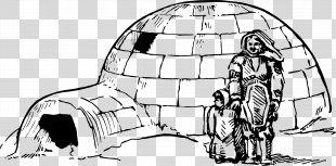 Igloo Eskimo Clip Art - Igloo PNG