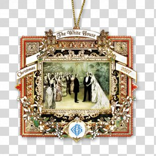 White House Historical Association Christmas Ornament President Of The United States - White House PNG