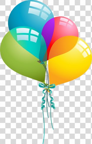 Birthday Cake Wish Sister Happiness - Birthday Balloons Cliparts PNG