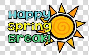 Spring Break Rice Elementary School Clip Art - Spring Break Cliparts PNG